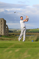 Paul O'Hara (Kilkenny) on the 13th tee during Round 2 of The South of Ireland in Lahinch Golf Club on Sunday 27th July 2014.<br /> Picture:  Thos Caffrey / www.golffile.ie