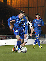 Josh Meekings in the St Mirren v Inverness Caledonian Thistle Clydesdale Bank Scottish Premier League match played at St Mirren Park, Paisley on 30.1.13.