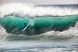 HAWAII, Oahu, North Shore, Eddie Aikau, 2016, surfer Takayuki Wakita competins in the Eddie Aikau 2016 big wave surf competition, Waimea Bay