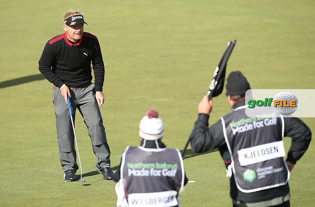 In a three-way playoff with Bernd Wiesberger (AUT)/ and Eddie Pepperell (ENG) Soren Kjeldsen (DEN) won the 2015 Dubai Duty Free Irish Open Hosted by The Rory Foundation at Royal County Down Golf Club, Newcastle County Down, Northern Ireland. 30/05/2015. Picture David Lloyd | www.golffile.ie