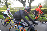 Anna van der Breggen (NED) Boels Dolmans Cyclingteam in action during a very wet Stage 1 of the 2019 ASDA Tour de Yorkshire Women's Race, running 132km from Barnsley to Bedale, Yorkshire, England.  3rd May 2019.<br /> Picture: ASO/SWPix | Cyclefile<br /> <br /> All photos usage must carry mandatory copyright credit (© Cyclefile | ASO/SWPix)