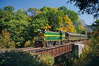 Green Mountain Railroad<br /> Williams River Bridge<br /> Vermont