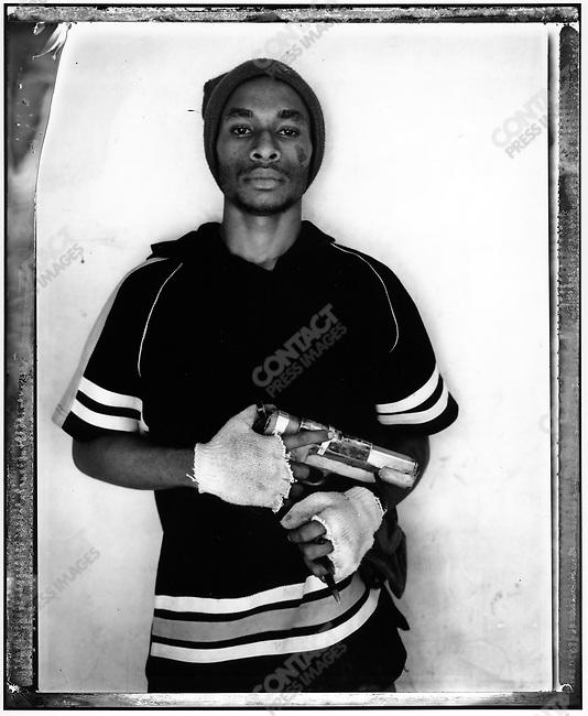 """Evavi,"" Raskols, gangs of Port Moresby, Papua New Guinea, January 2004"