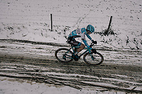 Arno Debeir (BEL/U23)<br /> <br /> U23 Men's Race<br /> CX Vlaamse Druivencross Overijse 2017