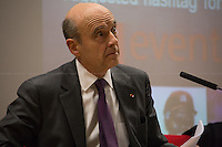 Alain Jupp&eacute;, former French Prime Minister.<br />