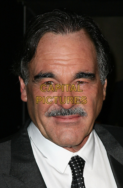 OLIVER STONE.Premiere of 'Wall Street: Money Never Sleeps' at the Ziegfeld Theatre on September 20, 2010 in New York City, New York, NY, USA..September 20th, 2010.headshot portrait moustache mustache facial hair white grey gray  .CAP/ADM/PZ.©Paul Zimmerman/AdMedia/Capital Pictures.