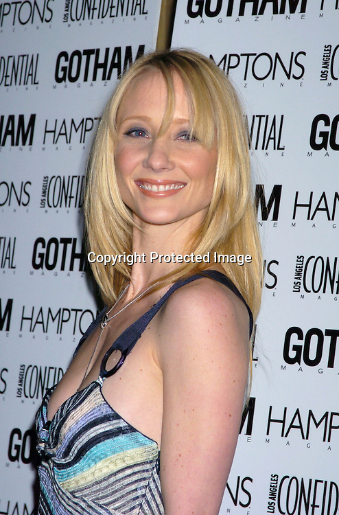 Anne Heche ..at the Gotham and LA Confidential' s Magazines anniversary on February 5, 2004 at Gotham Hall. Photo by ..Robin Platzer, Twin Images