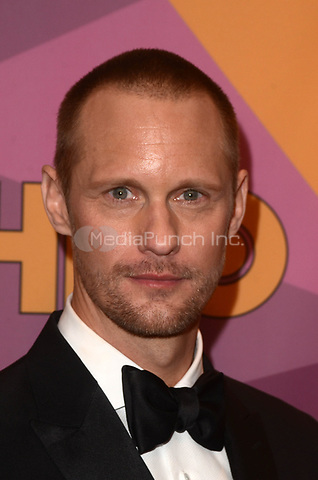BEVERLY HILLS, CA - JANUARY 7: Alexander Skarsgard at the HBO Golden Globes After Party, Beverly Hilton, Beverly Hills, California on January 7, 2018. Credit: <br /> David Edwards/MediaPunch