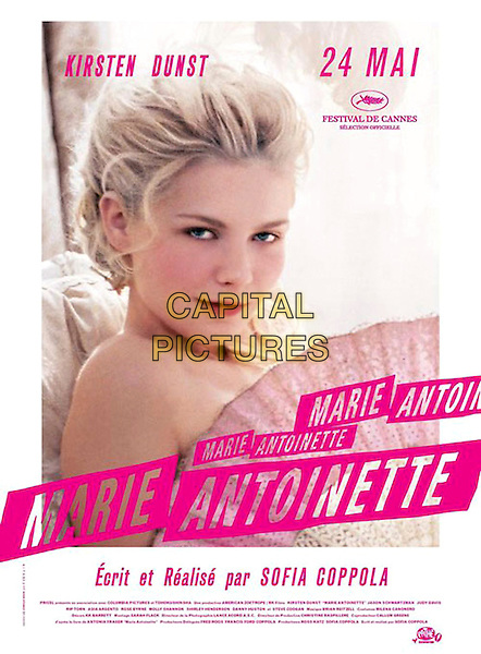 FRENCH POSTER ART.in Marie Antoinette.*Editorial Use Only*.Ref: FB.www.capitalpictures.com.sales@capitalpictures.com.Supplied by Capital Pictures.