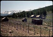 RGS remains along the right-of-way at Peak, long after abandonment.<br /> RGS  Peak, CO  6/27/1965