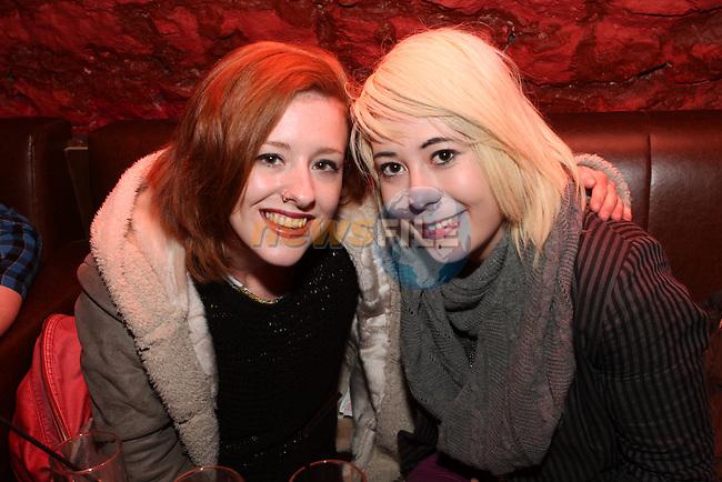 Emily Briggs and Megan Cloak in the Cellars....Photo NEWSFILE/Jenny Matthews.