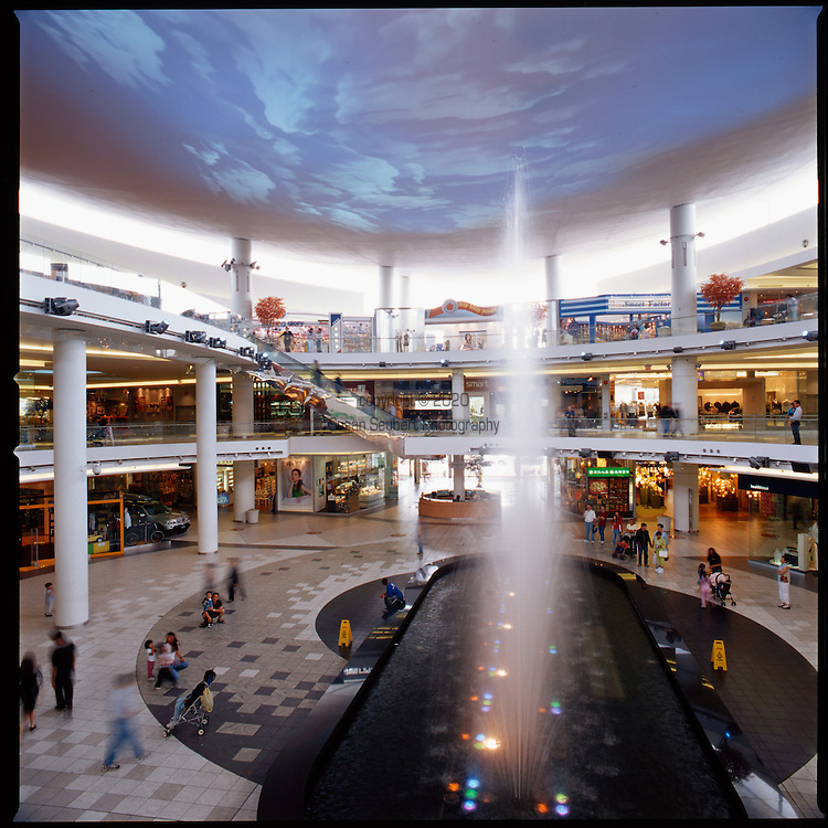 The Aberdeen Center Mall in Richmond, B.C., a suburb of Vancouver, was built in the early 1990's to cater to the blossoming Asian community and is named after Hong Kong's famous tourist harbor, Aberdeen.  When it was built it was the largest enclosed Asian retail centers in North America.