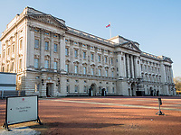 A view of Buckingham Palace building on Juanary 20, 2019, in London, Italy. (Photo by Adamo Di Loreto/BuenaVista*photo)