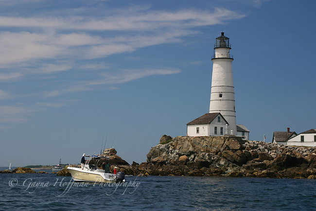 Boston Light, MA, Boston Harbor