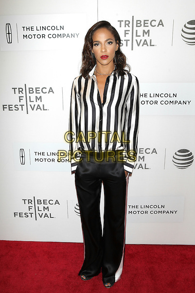 NEW YORK, NEW YORK - APRIL 19: Megaltn Echikunwoke at the US Premiere of The Meddler during the 2016 Tribeca Film Festival at BMCC on April 19, 2016 in New York City. <br /> CAP/MPI99<br /> &copy;MPI99/Capital Pictures