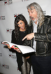 Jessica Rosenfeld and Corey Brunish attend the Seth Rudetsky Book Launch Party for 'Seth's Broadway Diary' at Don't Tell Mama Cabaret on October 22, 2014 in New York City.