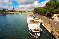 Paris - France - Pont Alexadre 111 - Dutch Barge