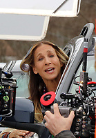 www.acepixs.com<br /> <br /> April 5 2017, New York City<br /> <br /> Actress Sarah Jessica Parker was on the set of the TV show 'Divorce' on April 5 2017 in Westchester, NY<br /> <br /> By Line: Philip Vaughan/ACE Pictures<br /> <br /> <br /> ACE Pictures Inc<br /> Tel: 6467670430<br /> Email: info@acepixs.com<br /> www.acepixs.com