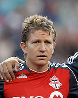 Toronto FC midfielder Terry Dunfield (23). In a Major League Soccer (MLS) match, Toronto FC defeated New England Revolution, 1-0, at Gillette Stadium on July 14, 2012.