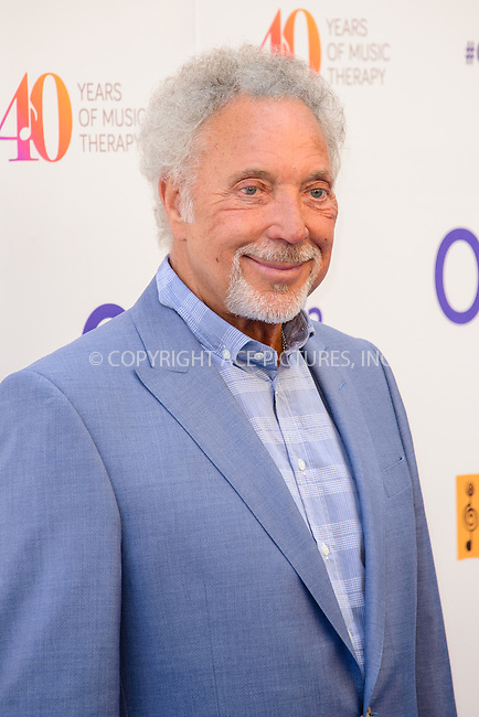 WWW.ACEPIXS.COM<br /> <br /> July 3 2015, London<br /> <br /> Sir Tom Jones arriving at the Nordoff Robbins O2 Silver Clef Awards at the Grosvenor House Hotel on July 3 2015 in London. <br /> <br /> By Line: Famous/ACE Pictures<br /> <br /> <br /> ACE Pictures, Inc.<br /> tel: 646 769 0430<br /> Email: info@acepixs.com<br /> www.acepixs.com