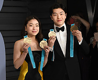 04 March 2018 - Los Angeles, California - Maia Shibutani, Alex Shibutani. 2018 Vanity Fair Oscar Party hosted following the 90th Academy Awards held at the Wallis Annenberg Center for the Performing Arts. <br /> CAP/ADM/BT<br /> &copy;BT/ADM/Capital Pictures