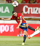 Spain's Koke Resurreccion during FIFA World Cup 2018 Qualifying Round match. September 5,2016.(ALTERPHOTOS/Acero)
