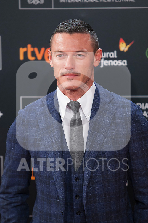 Welsh actor Luke Evans arrives to `High Rise´ film premiere during 63rd Donostia Zinemaldia (San Sebastian International Film Festival) in San Sebastian, Spain. September 22, 2015. (ALTERPHOTOS/Victor Blanco)