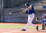 Wildcats' Corey Pool hits against Salt Lake Community College during a college baseball game at Western Nevada College in Carson City, Nev., on Thursday, March 5, 2015. <br /> Photo by Cathleen Allison/Nevada Photo Source