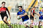 Paul Murphy Kerry in action against Diarmuid O'Connor Mayo in the All Ireland Semi Final Replay in Croke Park on Saturday.