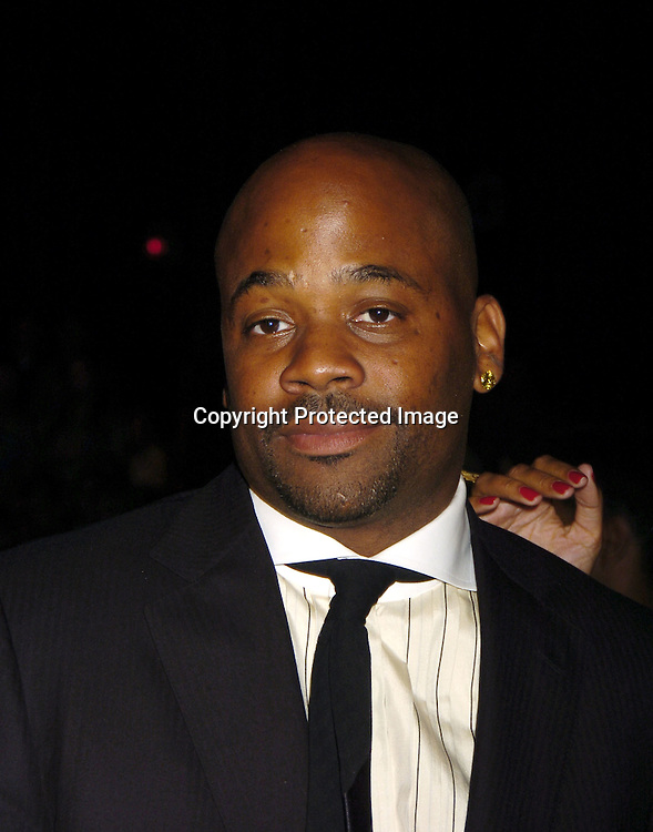 Damon Dash ..at the Fashion For Relief Fashion Show Benefit on September 16, 2005 at The Tents at the Olympus Fashion Week with money to be donatted to AmeriCares. ..Photo by Robin Platzer, Twin Images