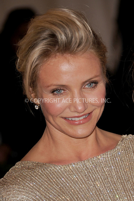 "WWW.ACEPIXS.COM . . . . . .May 7, 2012...New York City.....Cameron Diaz attending the ""Schiaparelli and Prada: Impossible Conversations"" Costume Institute Gala at The Metropolitan Museum of Art in New York City on May 7, 2012  in New York City ....Please byline: KRISTIN CALLAHAN - ACEPIXS.COM.. . . . . . ..Ace Pictures, Inc: ..tel: (212) 243 8787 or (646) 769 0430..e-mail: info@acepixs.com..web: http://www.acepixs.com ."