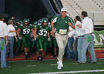 Denton, TX - OCTOBER 7:  Darrell Dickey head coach - University of North Texas Mean Green football vs Florida International University Panthers at Fouts Field in Denton on October 7, 2006 in Denton, Texas. NT wins 25-22. Photo by Rick Yeatts