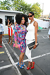Kimberly Ford and Alicia Reed    Attend Bikini Under The Bridge 2013 Fashion Show Held in BAM Parking Lot, Brooklyn NY