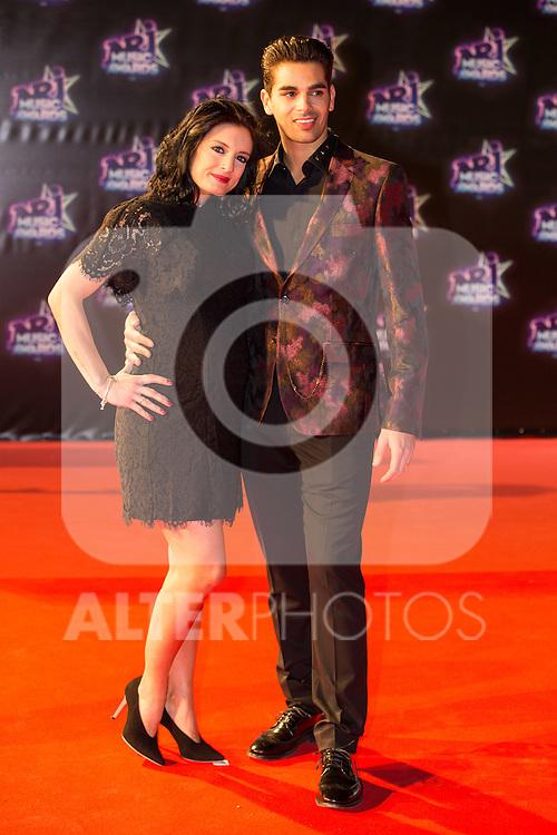 Christophe Licata et sa compagne Coralie