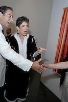 Howard Blum and Beth Rudin DeWoody at the Parish Museum Gala in Southampton, NY, 2004