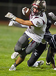 Lawndale, CA 09/29/17 - Eric Suarez (Torrance #6) in action during the Torrance vs Lawndale CIF Varsity football game at Lawndale High School.   Lawndale defeated Torrance 42-0.