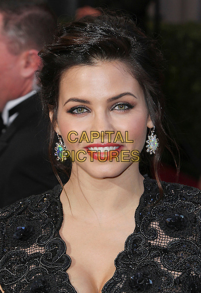 Jenna Dewan-Tatum.85th Annual Academy Awards held at the Dolby Theatre at Hollywood & Highland Center, Hollywood, California, USA..February 24th, 2013.oscars headshot portrait black lace pink lipstick pink red lipstick .CAP/ADM/SLP/COL.©Colin/StarlitePics/AdMedia/Capital Pictures