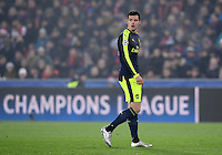FUSSBALL CHAMPIONS LEAGUE SAISON 2016/2017 GRUPPENPHASE FC Basel - Arsenal London            06.12.2016 Granit Xhaka (Arsenal)