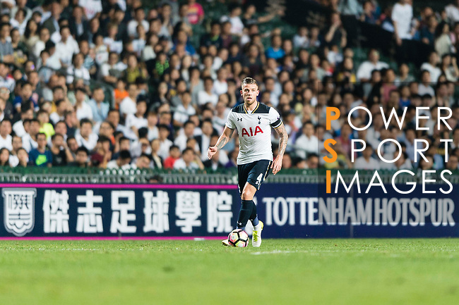 Tottenham Hotspur Defender Toby Alderweireld in action during the Friendly match between Kitchee SC and Tottenham Hotspur FC at Hong Kong Stadium on May 26, 2017 in So Kon Po, Hong Kong. Photo by Man yuen Li  / Power Sport Images