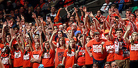 Virginia  fans during an ACC basketball game Jan. 13, 2015 in Charlottesville, VA Virginia won 65-42.