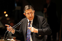 NAPOLI 15/06/2012 CONFERENZA NAZIONALE PER IL LAVORO DEL PARTITO DEMOCRATICO.NELLA FOTO GIAMPAOLO GALLI.FOTO CIRO DE LUCA.