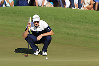 Justin Rose (ENG) on the 16th green during Sunday's Final Round of the 2018 Turkish Airlines Open hosted by Regnum Carya Golf &amp; Spa Resort, Antalya, Turkey. 4th November 2018.<br /> Picture: Eoin Clarke | Golffile<br /> <br /> <br /> All photos usage must carry mandatory copyright credit (&copy; Golffile | Eoin Clarke)