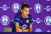 Orlando, FL - Sunday June 26, 2016: Stephanie Catley  after a regular season National Women's Soccer League (NWSL) match between the Orlando Pride and the Portland Thorns FC at Camping World Stadium.