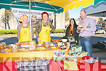 Craft & Food Market : Attending the Craft & Food market held in conjunction with Listowel Food Fair on Sunday last were Jane Brown, Lorna Tyther, Barbara Hodges & Brendan Bacon.