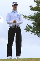 Sam Murphy (Portumna) on the 10th tee during the Final round in the Connacht U16 Boys Open 2018 at the Gort Golf Club, Gort, Galway, Ireland on Wednesday 8th August 2018.<br /> Picture: Thos Caffrey / Golffile<br /> <br /> All photo usage must carry mandatory copyright credit (&copy; Golffile   Thos Caffrey)