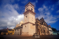 La Merced Church in the Spanish colonial city of Granada, Nicaragua