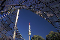 Munich, Germany, Bavaria, Munchen, Europe, Olympic Stadium at Olympia Park