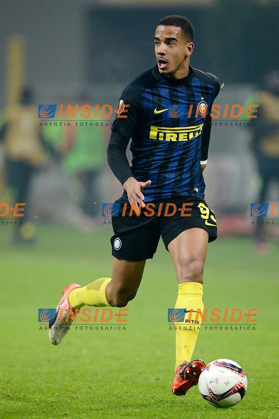 Senna Miangue Inter<br /> Milano 8-12-2016 Stadio Giuseppe Meazza - Football Calcio Europa League Inter - Sparta Praga. Foto Giuseppe Celeste / Insidefoto