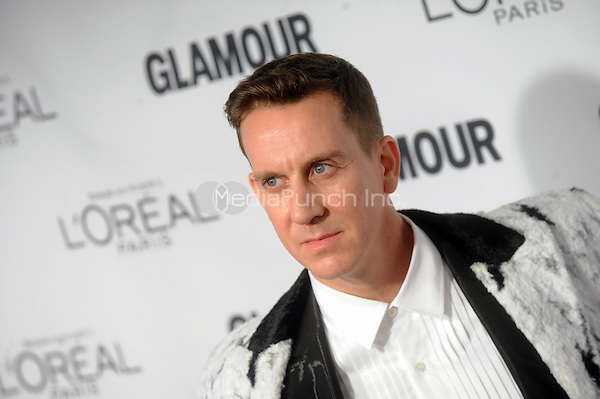 Jeremy Scott  attends Glamour's 25th Anniversary Women Of The Year Awards at Carnegie Hall   on November 9, 2015. Credit: Dennis Van Tine/MediaPunch