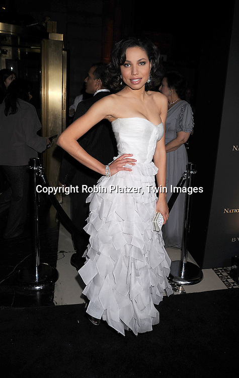 Jurnee Smollett in Valentino Dress.posing for photographers at The 2007 National Board of Review of Motion Pictures Awards Gala presented by Bulgari on January 15, 2008 at Cipriani's 42nd Street. .Robin Platzer, Twin Images